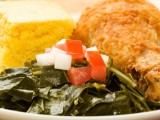 Low fat soul food recipes can be hard to find, but there are some for fat free collard greens, low fat macaroni and cheese and low fat sweet potato pie.