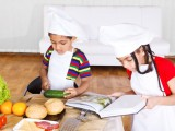The best children's cookbooks include Betty Crocker's Cookbook for Boys & Girls, Pretend Soup: A Cookbook for Preschoolers and Up and a Harry Potter Cookbook.